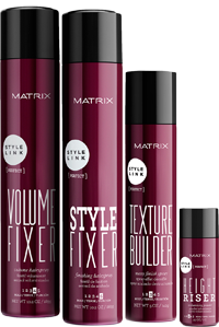 matrix hair styling products introducing style link a new innovative styling range by 7057